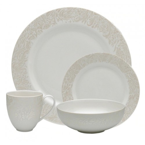 Monsoon Lucille Gold 16 Piece Tableware Set